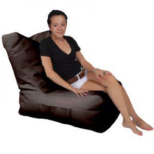 Recliner-Dark-Brown-front