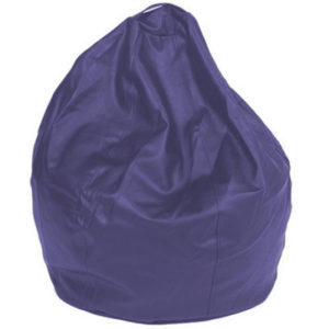 Queen Large Leatherette Purple