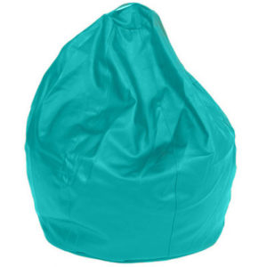 Queen Large Leatherette Turquoise